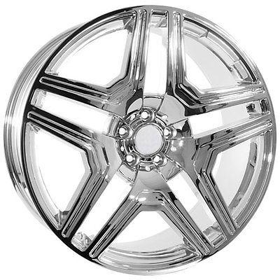 22 inch Mercedes Benz R ML ML430 ML500 GL GL450 AMG wheels