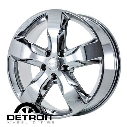 GRAND CHEROKEE 2011 2013 PVD Bright Chrome Wheels Rims Factory 9107