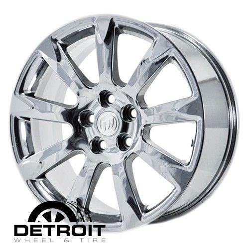 ALLURE LACROSSE 2010 2011 PVD Bright Chrome Wheels Rims Factory 4097