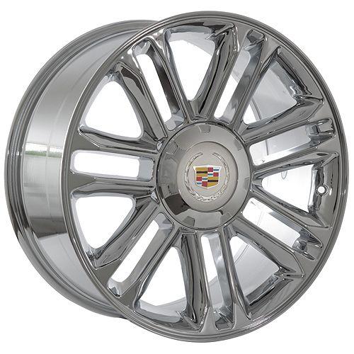 inch Cadillac 2009 Escalade platinum chrome wheels rims fits 2009 ESV