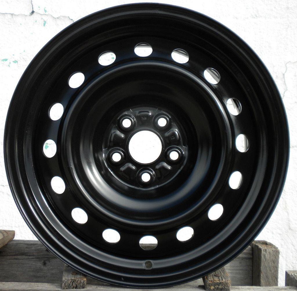 16 Black Steel Wheel Rim 2009 2010 09 10 New Take Off NW Code
