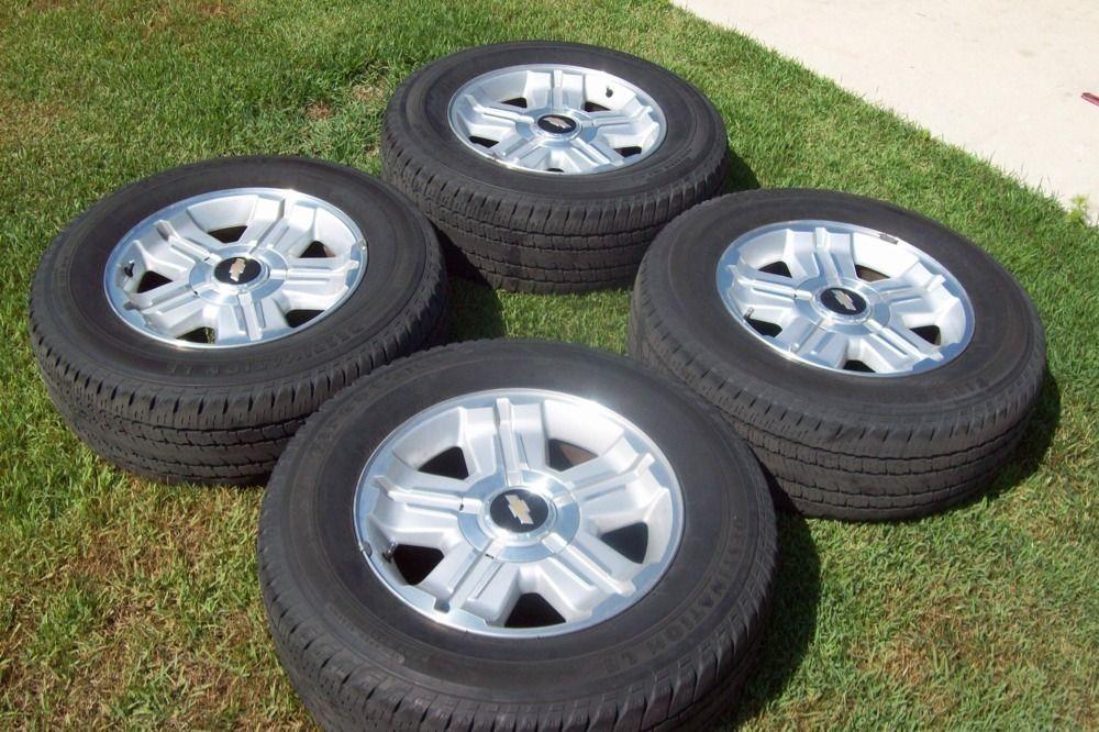 2007 2012 18 Chevrolet Silverado Z71 Tahoe Wheels Tires 07 08 09