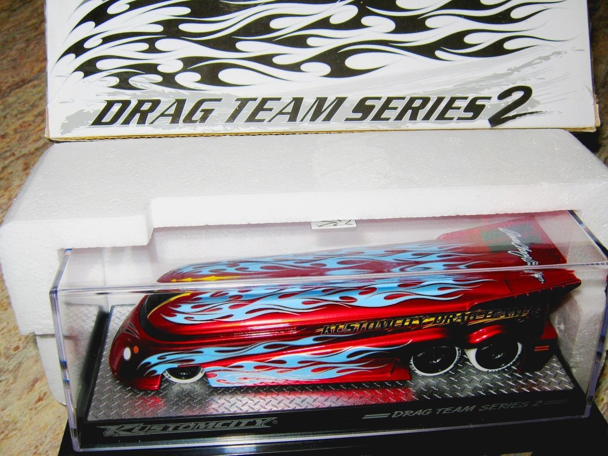 GT 2007 VW Kombi Drag BUS Hot KUSTOMCITY Race Speed XMAS GIFT Wheels