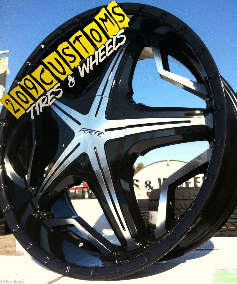 19 Black Wheels Rims Tires 5x114 3 Honda Accord 2008 2009 2010
