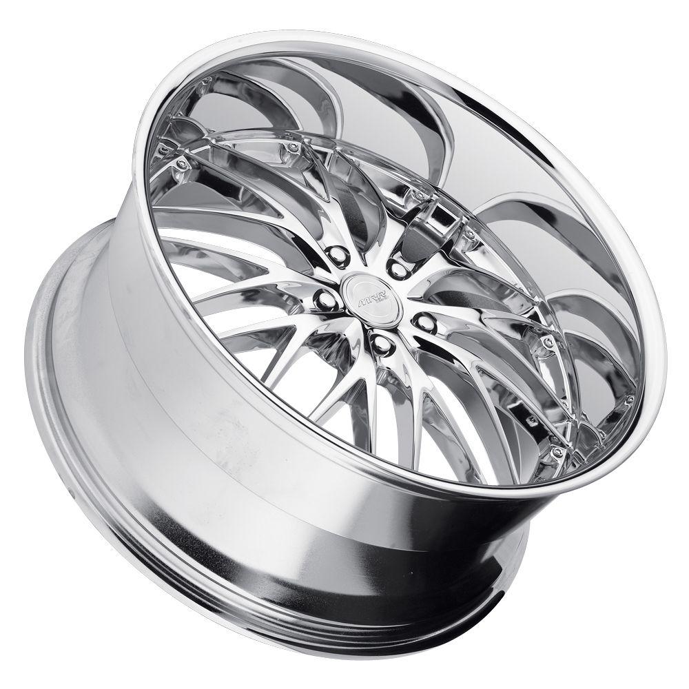 22 MRR GT1 Chrome Wheels Rims Fit BMW E60 E61 2003 2010 M5