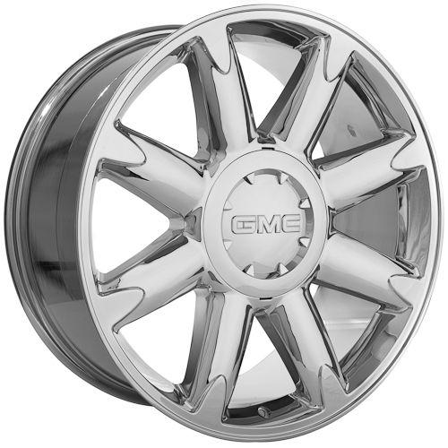 20 inch GMC Yukon Denali 2011 Sierra Chrome Wheels Rims