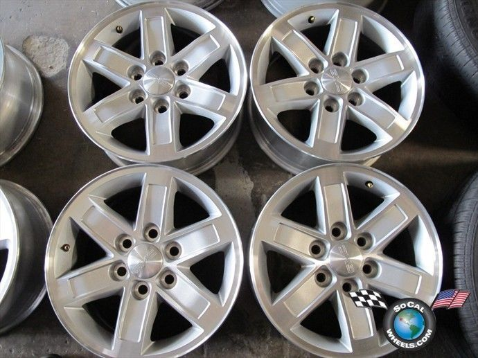 07 11 GMC Sierra Yukon Denali Factory 17 Wheels Rims OEM Suburban 5296