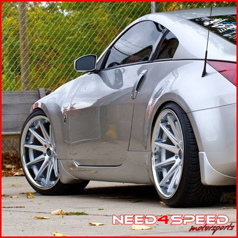 Altima Rohana RC10 Deep Concave Silver Staggered Wheels Rims