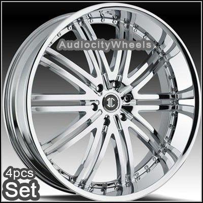 24 inch Wheels Rims Chevy Ford Escalade GMC QX56 Nissan
