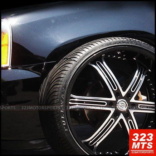 26 VE226 Versante VE226B Tahoe Silverado Wheels Rims
