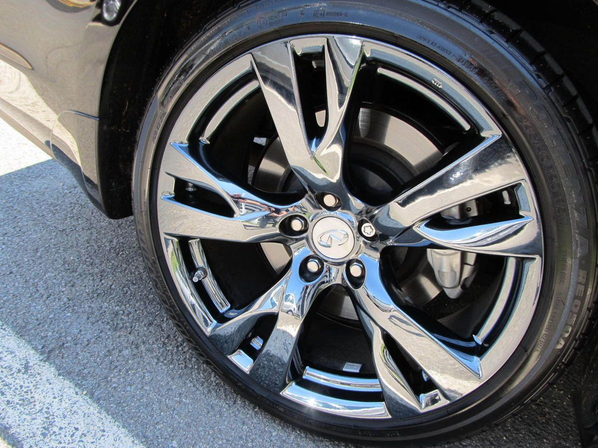 Infiniti M56 M37 Sport 20 Factory Rims Black Chrome Wheel Exchange