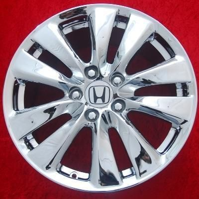 of 4 New Chrome 17 Honda Accord Factory OEM Wheels Rims EXCHANGE 64015