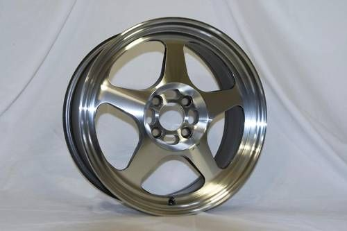 15 Rota Slipstream Polish Rims Wheels 15x6 5 40 4x100 Civic Integra