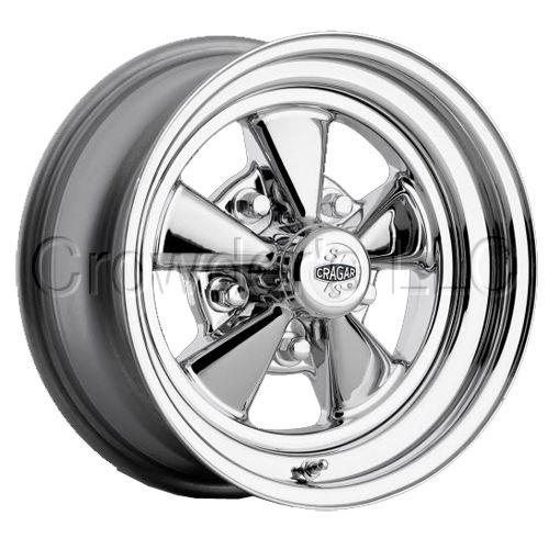 Cragar 61 Car Truck Wheel Rim 15 inch 5 Lug Chrome