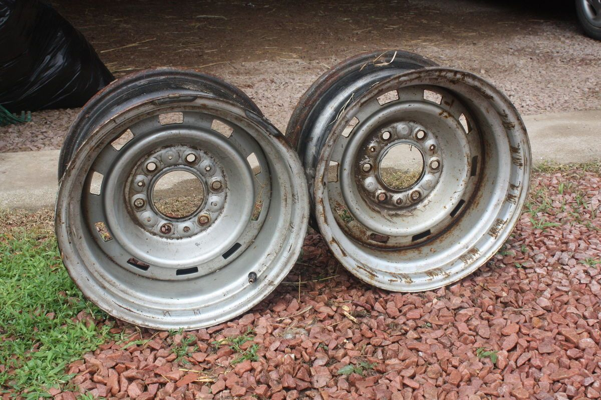 15x8 Chevy GMC Truck Pickup Rally Wheels Rims 6 Lug