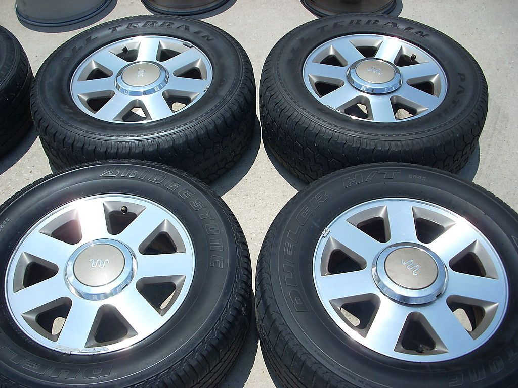 18 Ford F150 King Ranch Wheels Tires Rims Expedition Mark Lt Navigator 2004