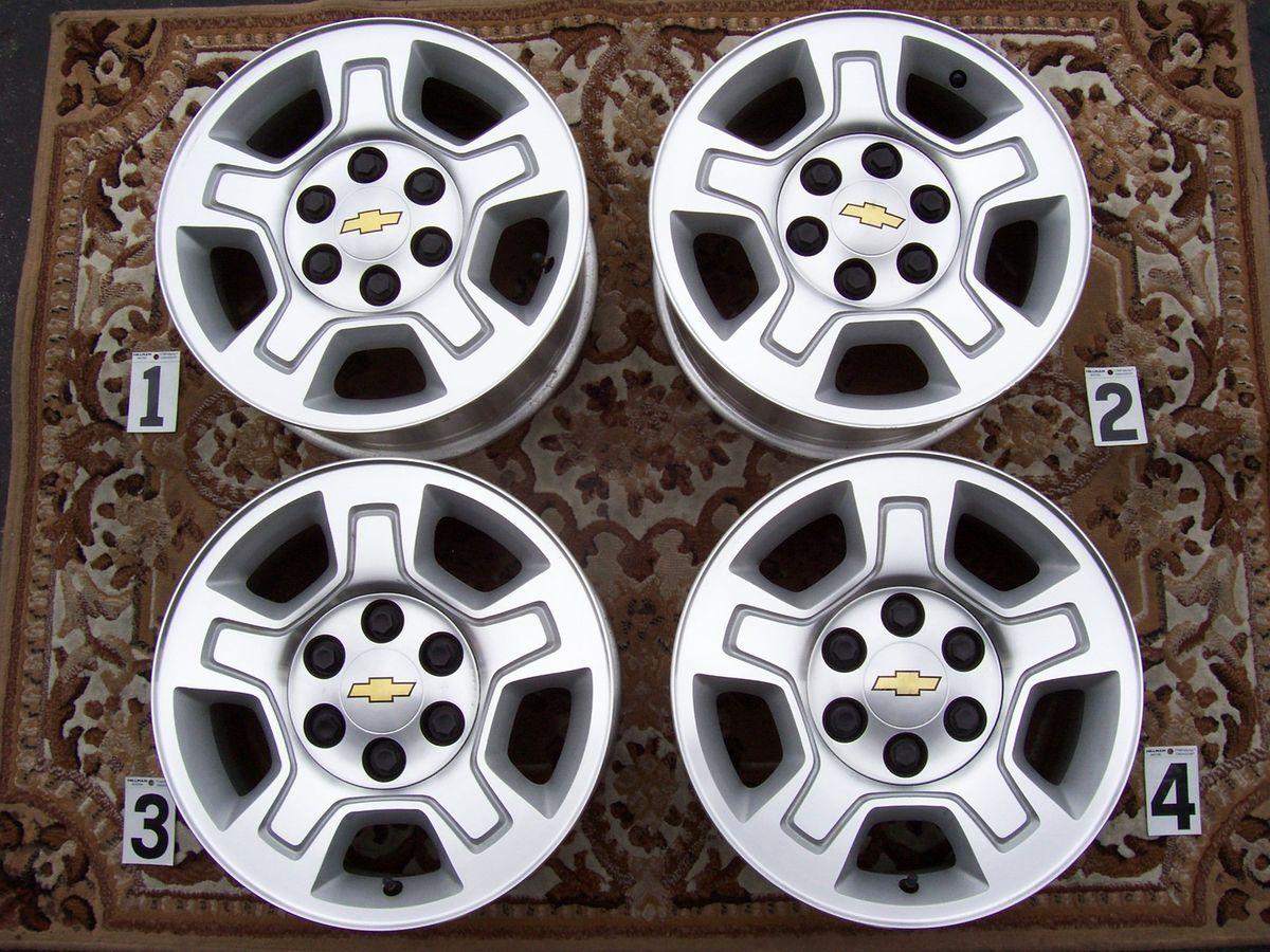 Chevy GMC 1500 Silverado 17 Wheels Rims Stock Factory Tahoe Suburban
