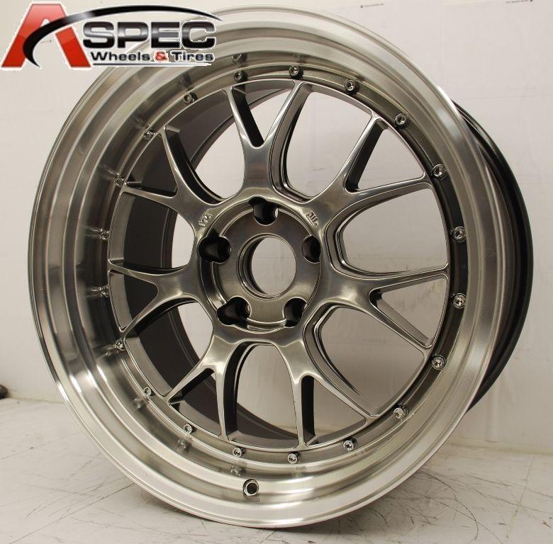 Varrstoen ES552 5x114 3 22 73 1 Hyper Black Wheel Rims 5x4 5