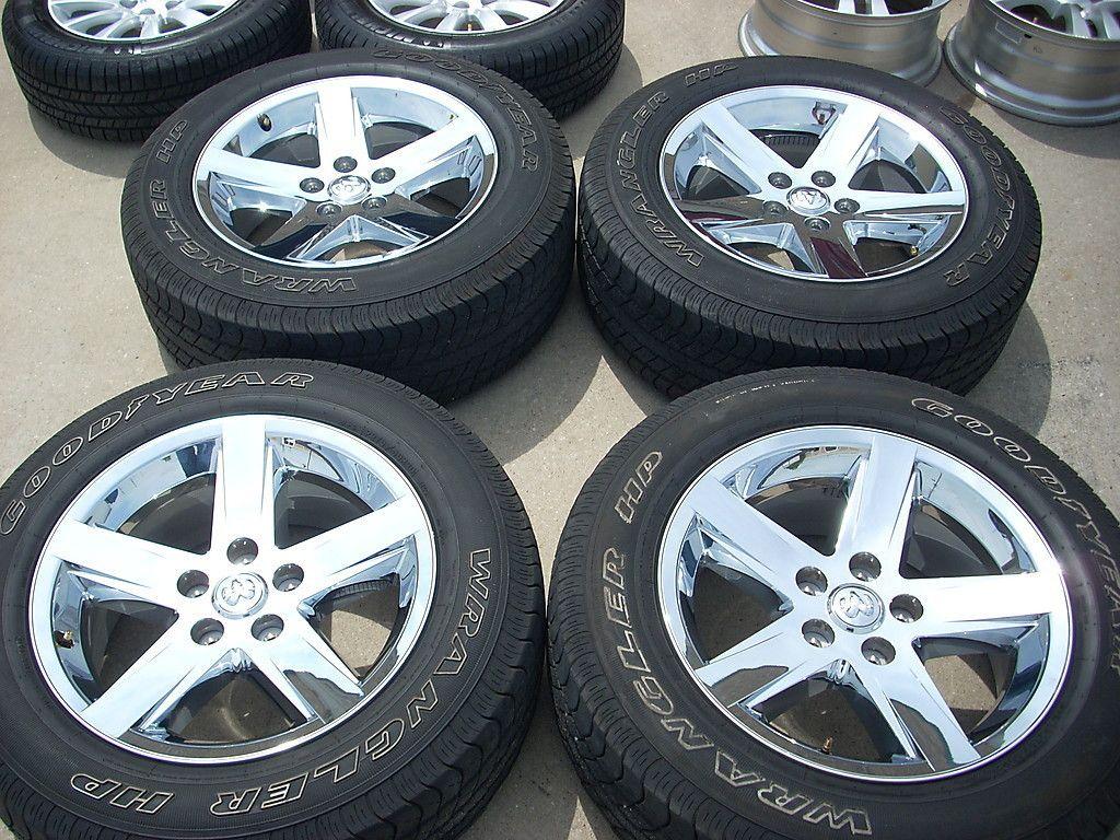 20 Chrome Dodge RAM 1500 Wheels Tires Rims 2364
