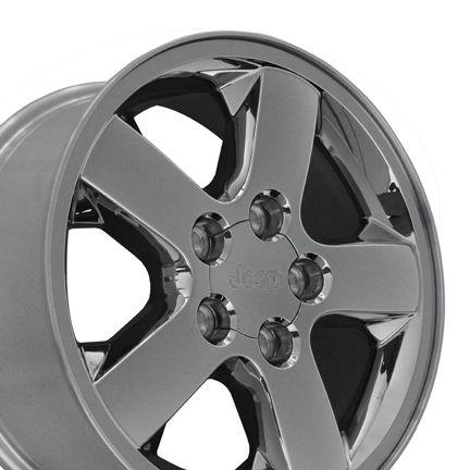 17 Chrome Clad Wheels Rims Fit Jeep Grand Cherokee 2004 2012