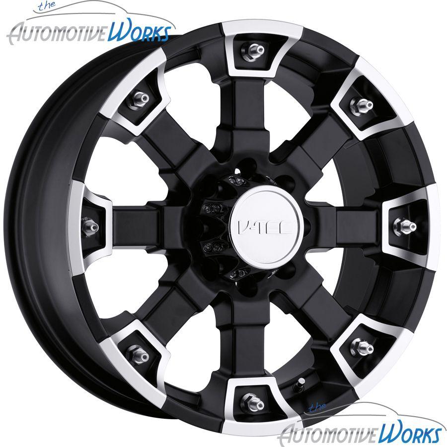 Tec Brutal 5x114 3 5x4 5 20mm Matte Black Wheels Rims inch 18