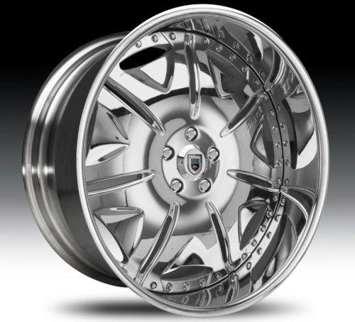 22 asanti AF139 Chrome Wheels Rims 3 Piece