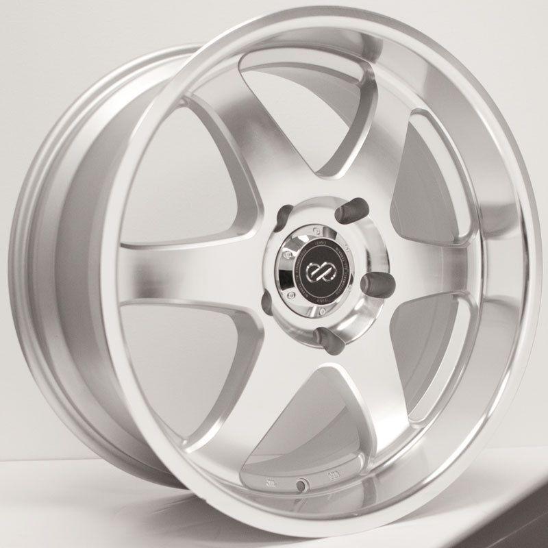 18 Enkei ST6 Rims Wheels Silver Machined 18x8 5 6x139 7 20