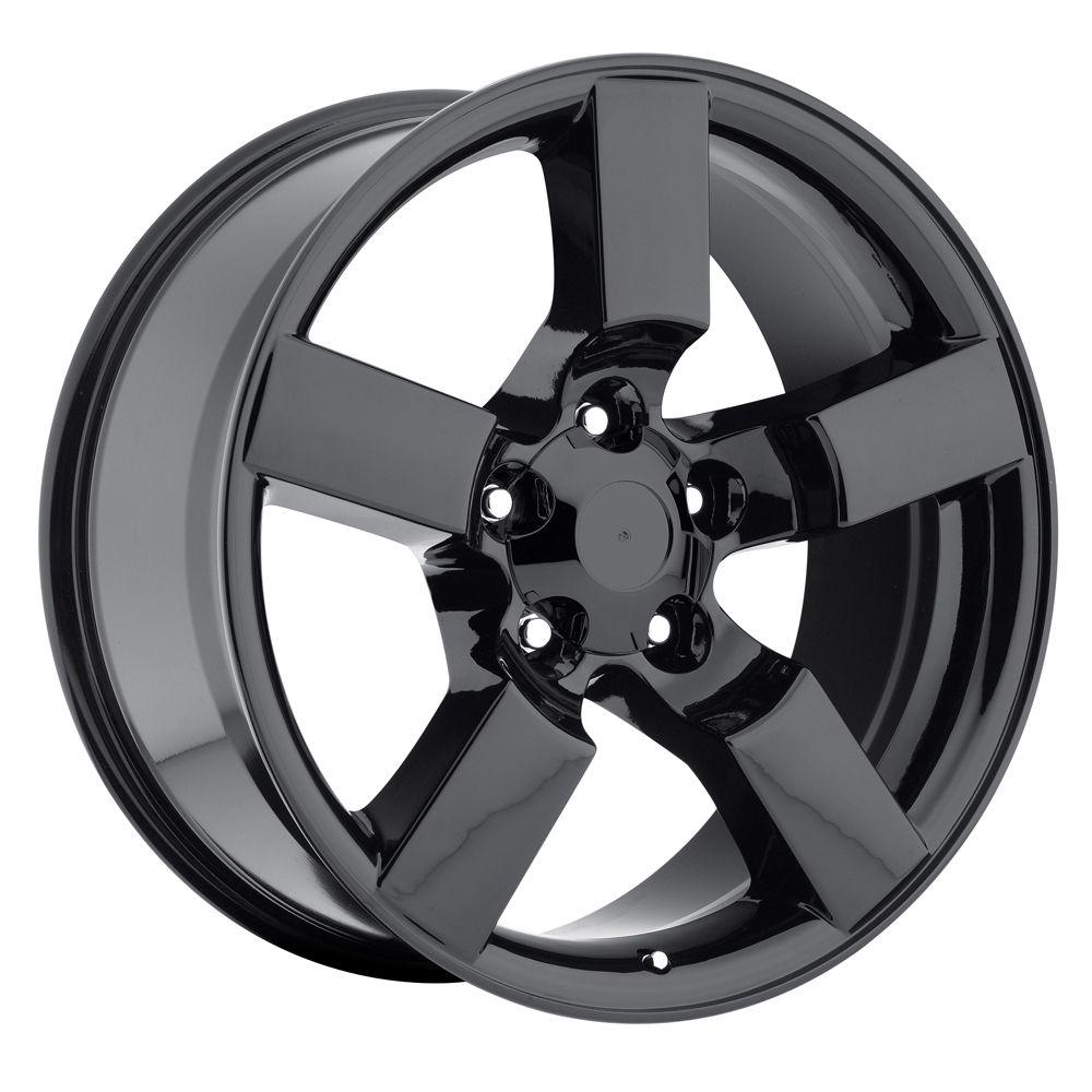 20 Ford F150 Lightning Tires Wheels Rims Package Gloss Black Set 97