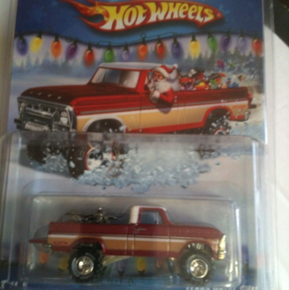 Hot Wheels Holiday Rods Red Texas DriveEm RARE w O Red Rims