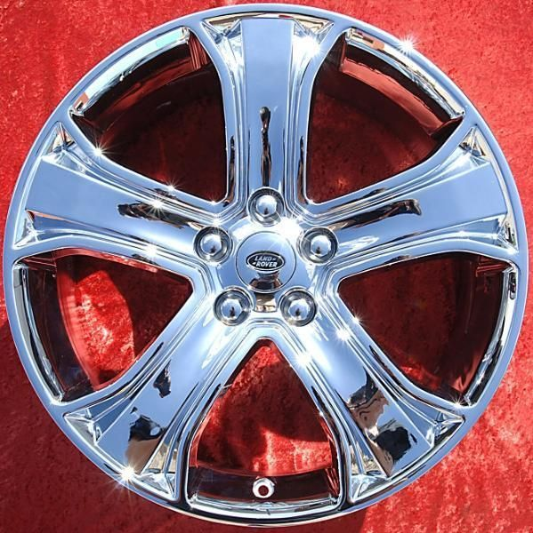 of 4 New 20 Range Land Rover HSE Chrome Factory OEM Wheels Rims 72221
