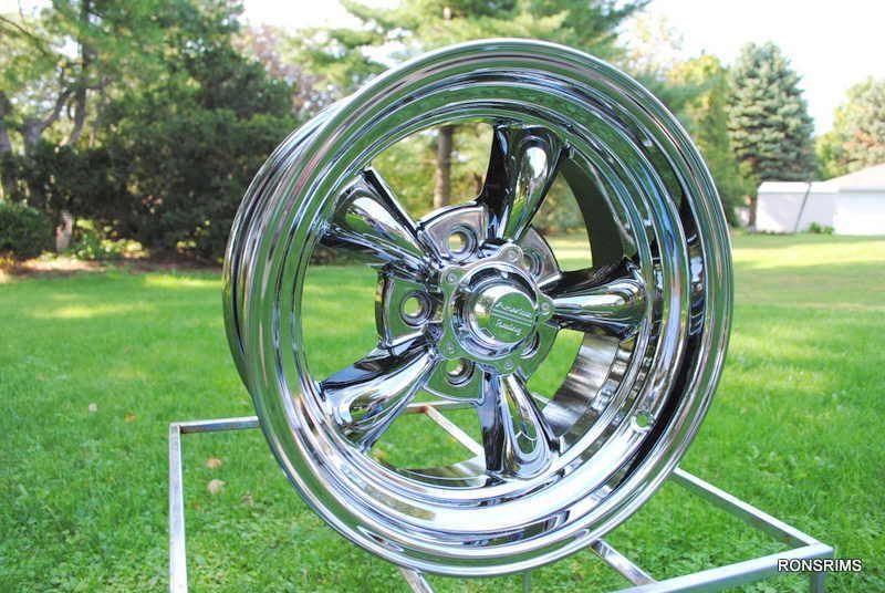 Chrome Ford Mopar American Racing Wheels Dodge 5 on 4 5 BP