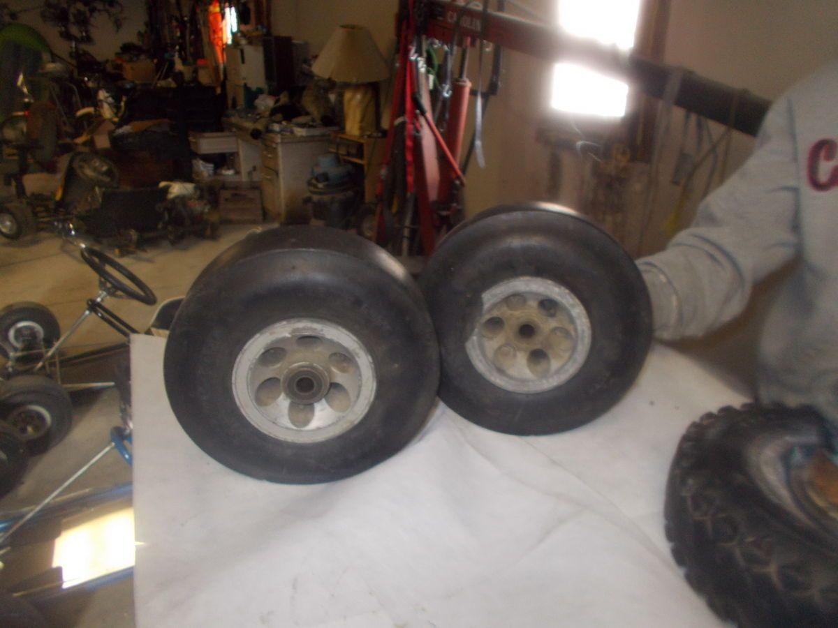 Vintage go kart wheels