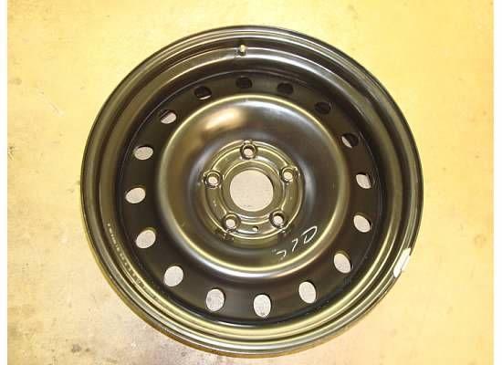 Dodge RAM 1500 Spare Steel Wheel Rim 02 08 Tire Black 2166 Hemi
