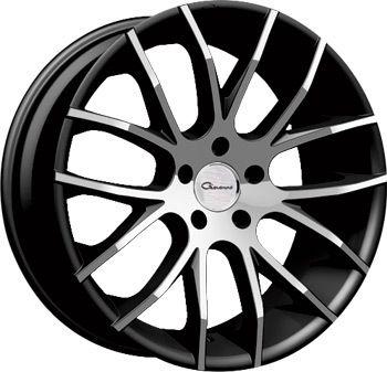 20 Giovanna Kilis Black Rims Wheels BMW 328I 330I 335CI 06 & Up