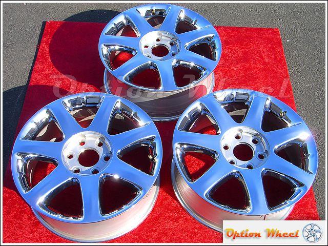 Single 19 Buick Enclave Factory Chrome Wheel Rim 4078