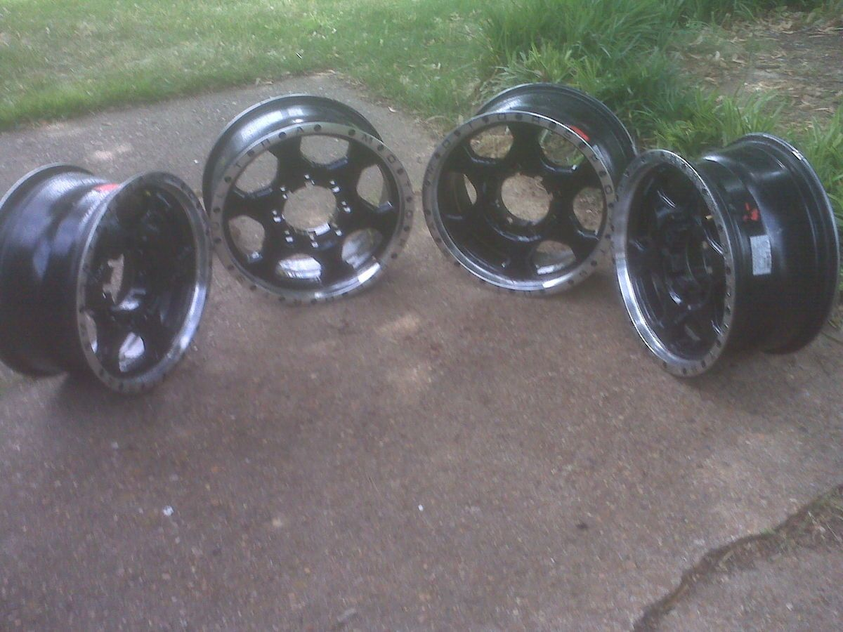 17 Dodge RAM 2500 3500 Rims Black Aftermarket Ultra Motorsports