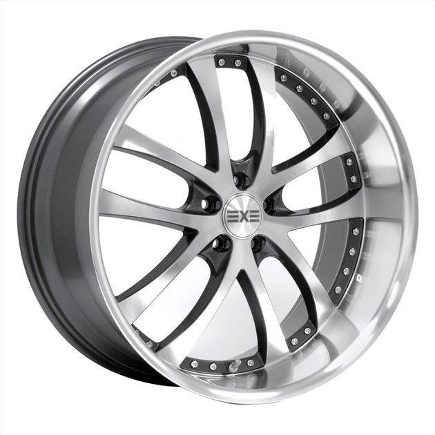 19 Axis Konvex Machine Face Wheels Rims Fit Lexus RX350 RX450 AWD