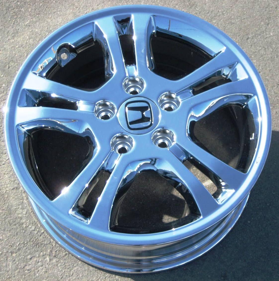 16 Factory Honda Accord Chrome Alloy Wheel Rim 63907 16x6 5 1 Single