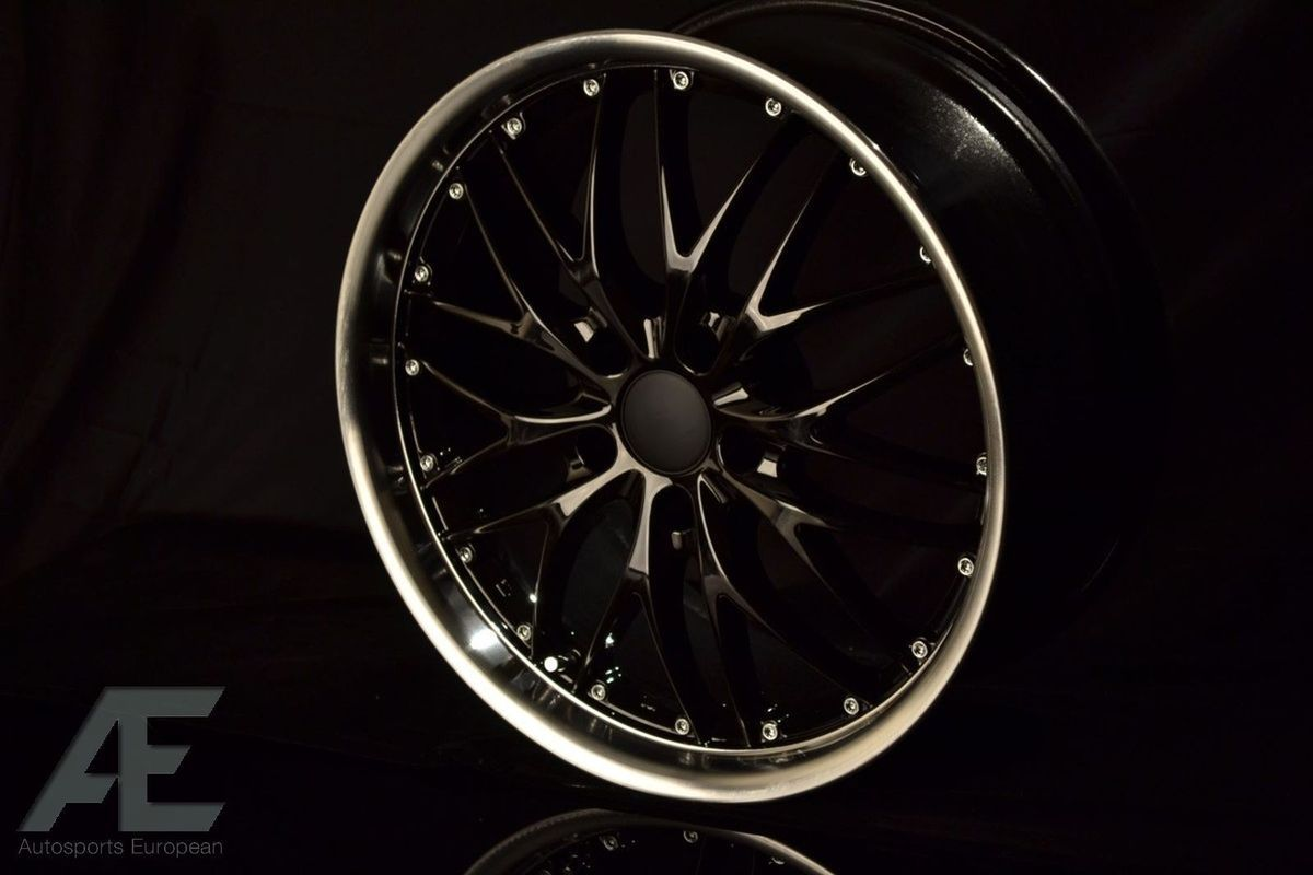 19 inch lexus is250 is300 is350 wheels rims gt1 gloss black. Black Bedroom Furniture Sets. Home Design Ideas