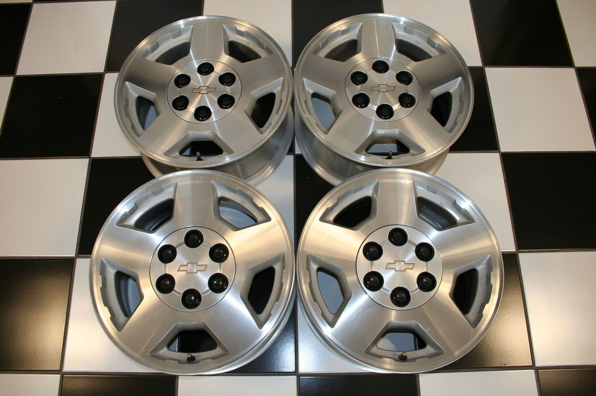 Silverado Suburban Tahoe 17 Wheels Rims 5196 Set of 4